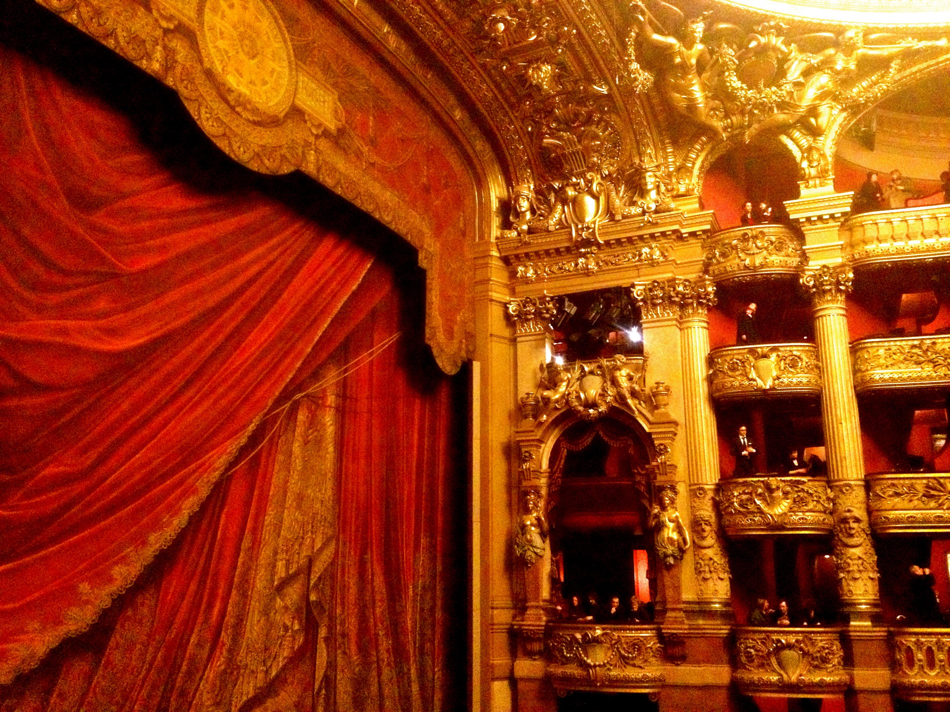 Red Hot Palais Garnier Paris Chasing Home